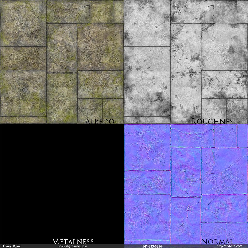 Daniel rose stonefloor textures