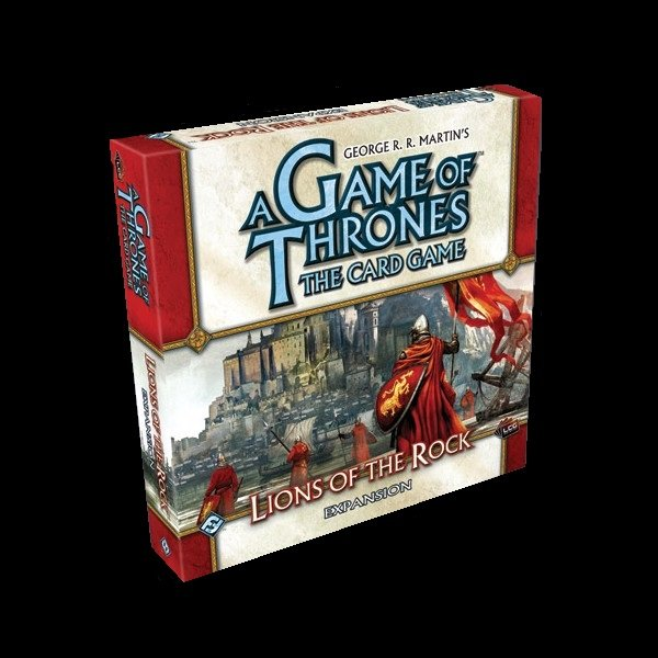 Tomasz jedruszek lions of the rock deluxe expansion a game of thrones lcg