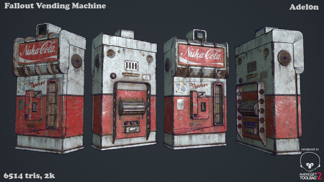 Vlad silchuk vending machine wire by adel0n