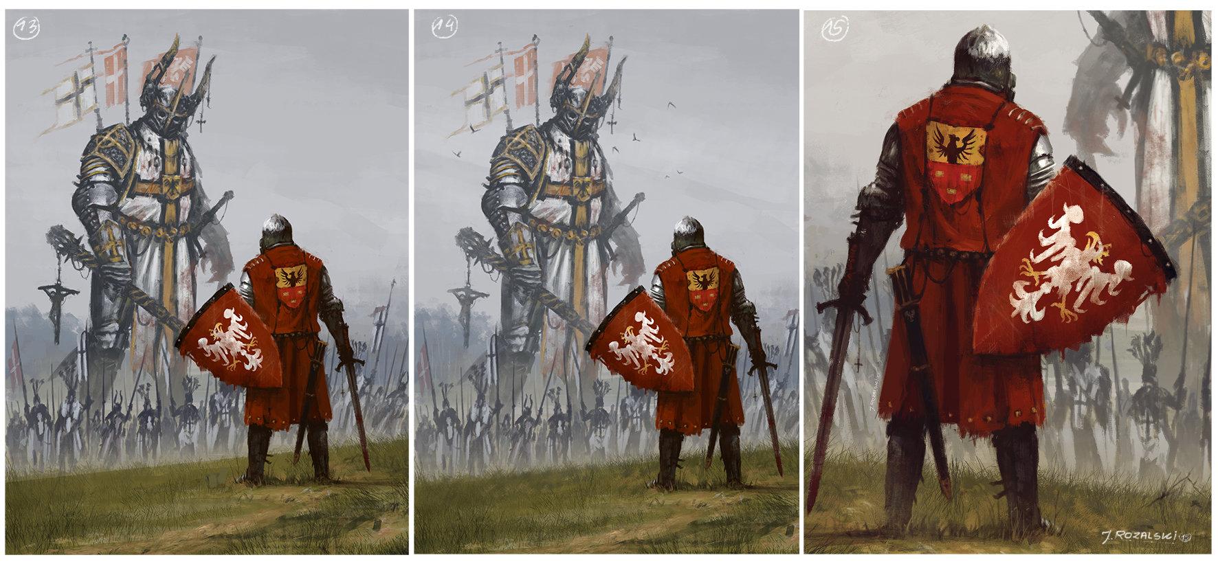 Jakub rozalski 1410 process 05