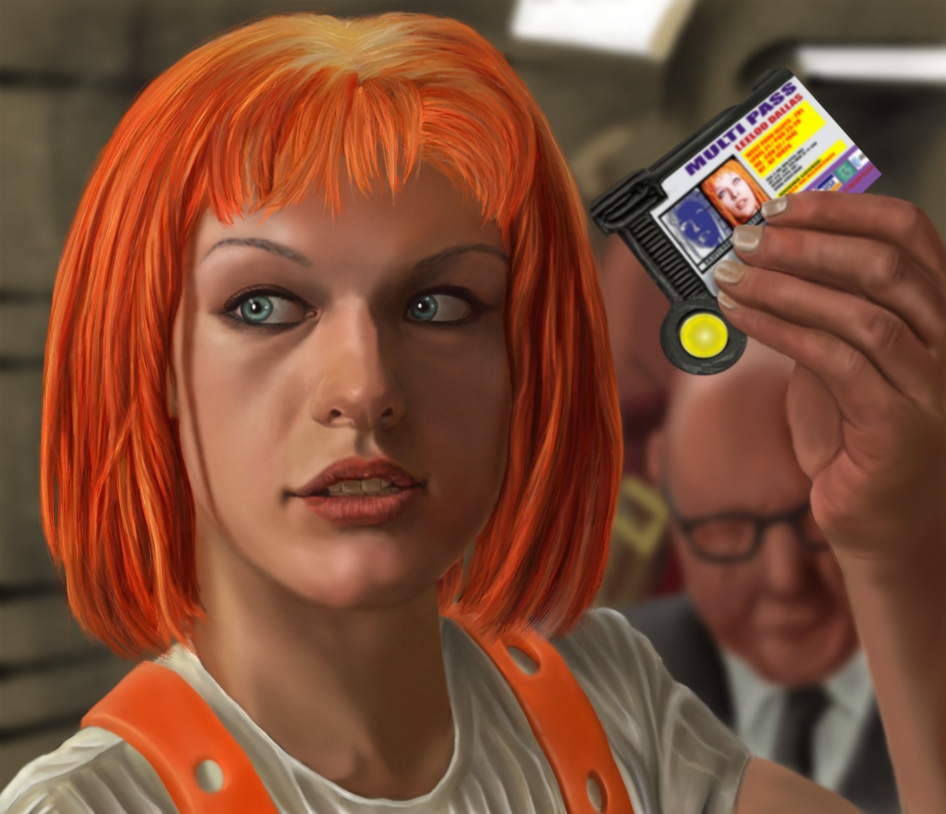 J. Beve - Leeloo (The Fifth Element) Multipass!!