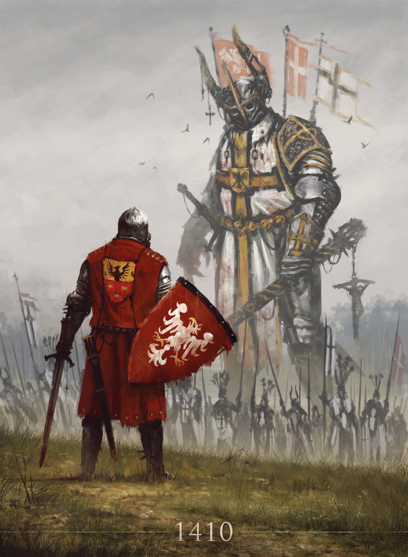 Jakub rozalski grunwald1410 1410s