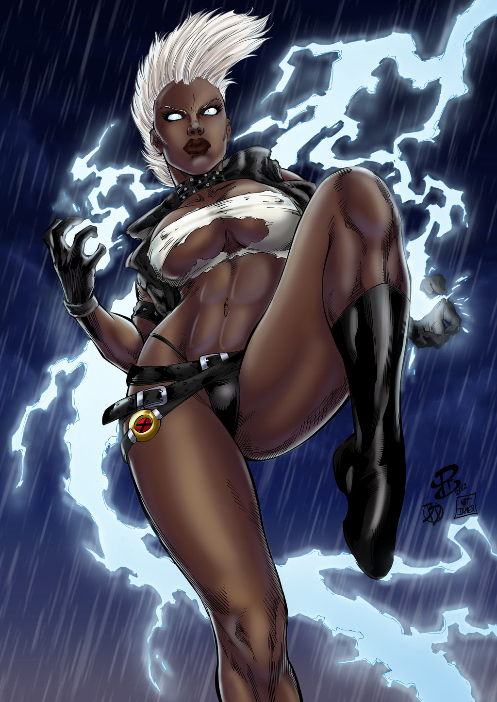 Matt james punk storm by mattjamescomicarts d7xbqb0