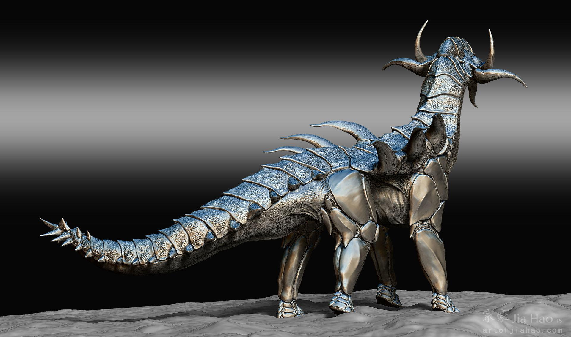 Jia hao 2015 08 dino designpresentations sculpt 06
