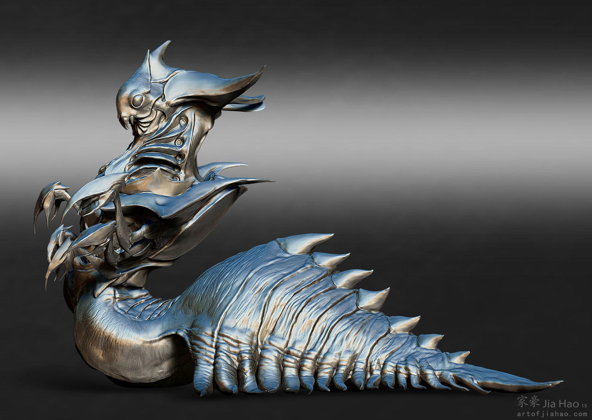Jia hao 2015 09 insectqueen designpresentations sculpt 02