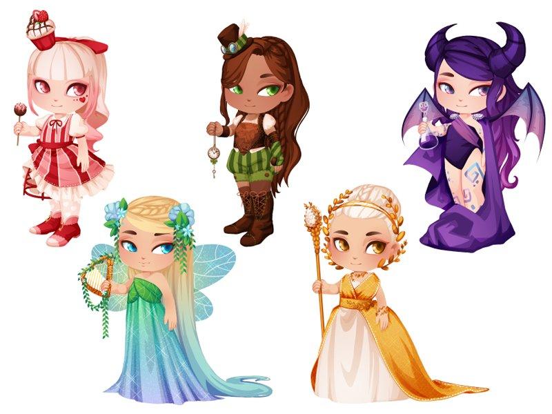 Marie bonhoure fantasy girls