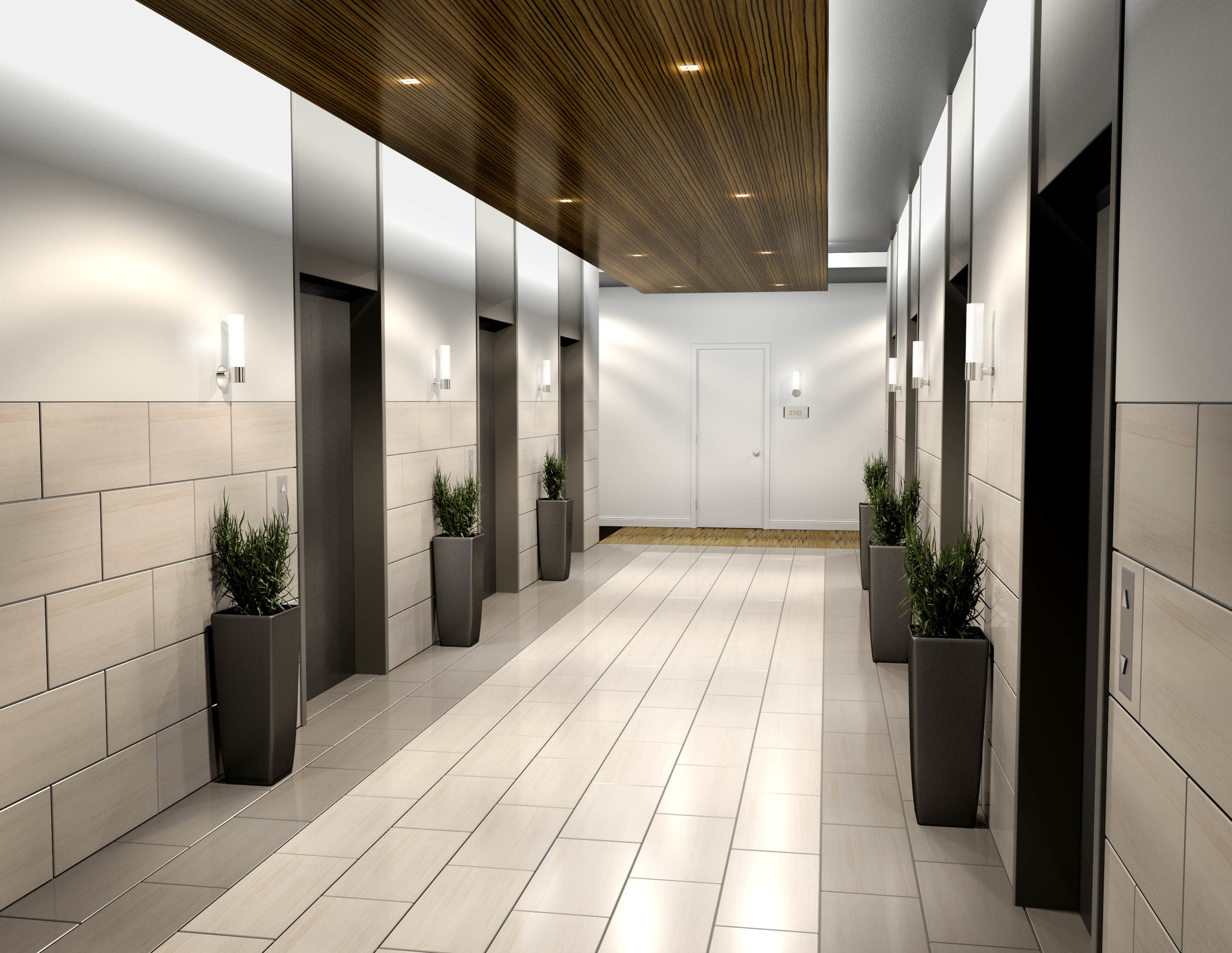 Travys Keto Professional 3d Artist Elevator Lobby