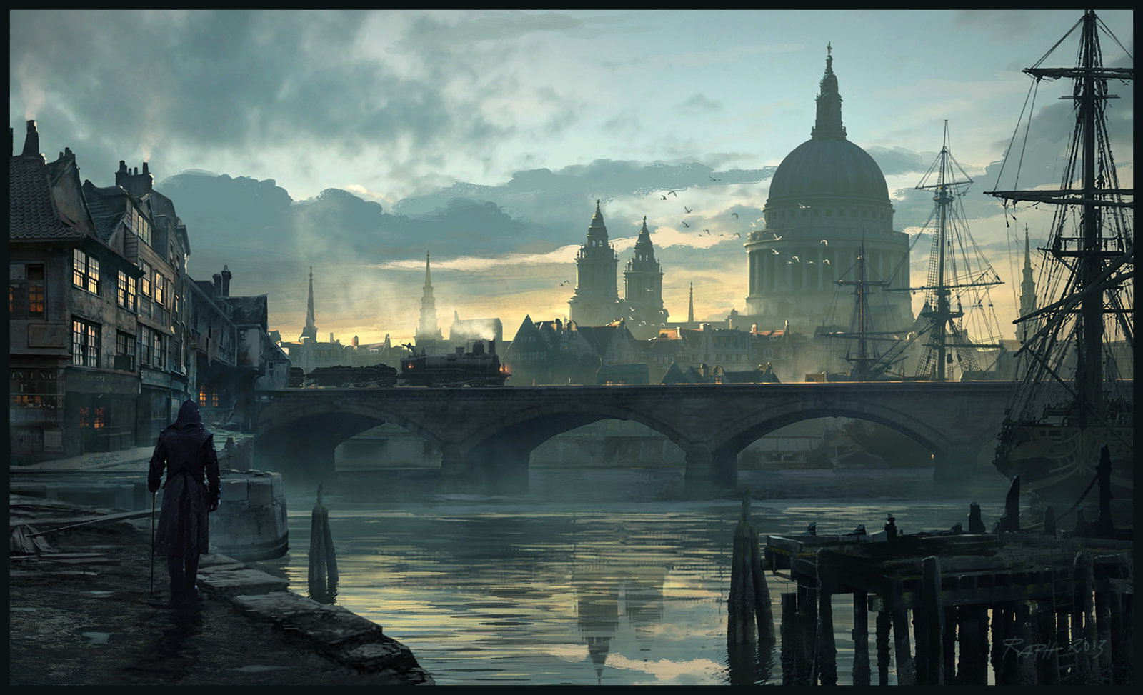 Assassin's Creed London - Raphael Lacoste - copyright Ubisoft