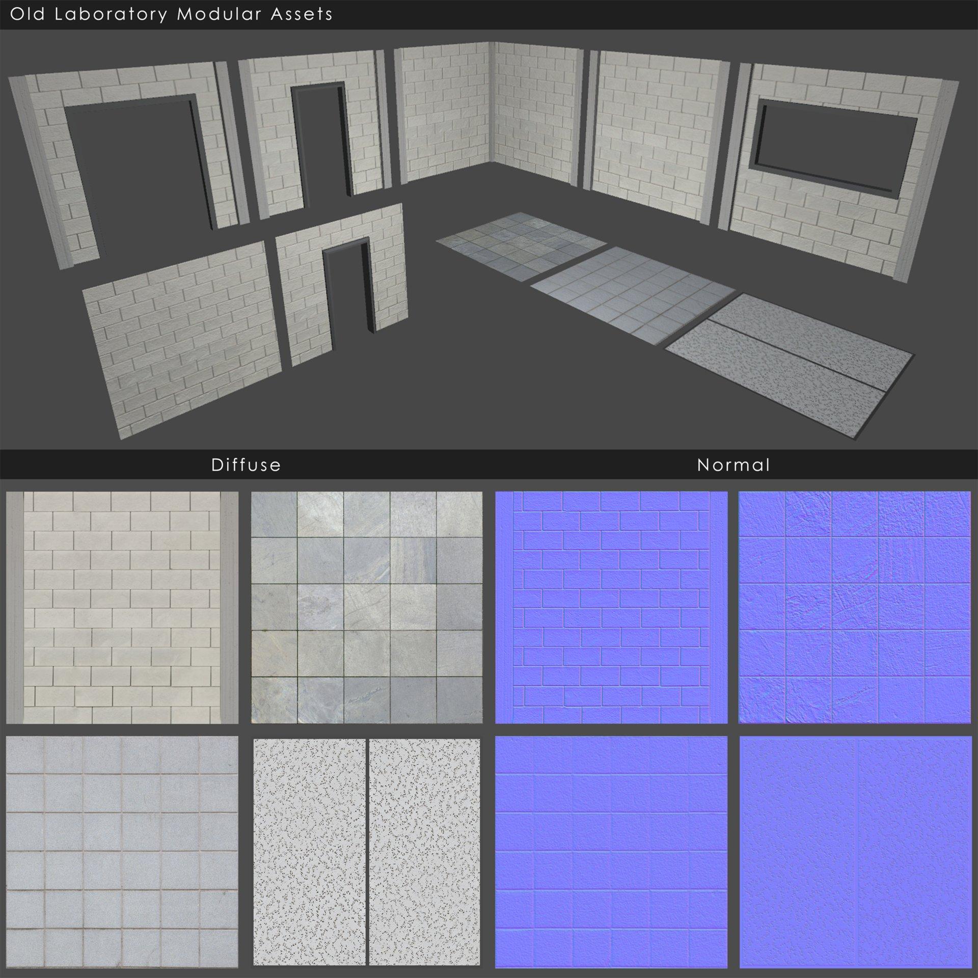 Andrew navratil laboratory modeltexture