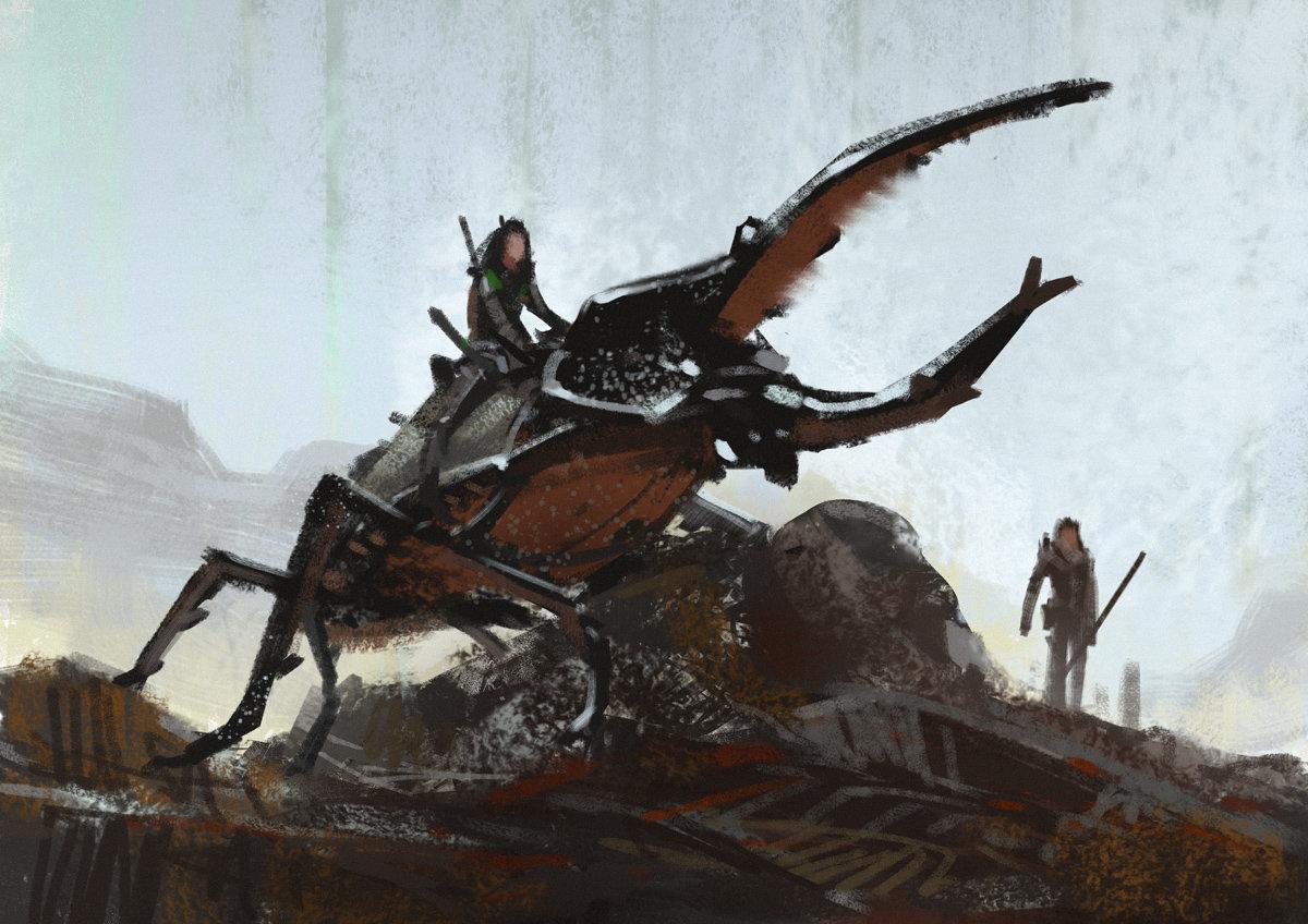 Lorenz hideyoshi ruwwe hercules beetle