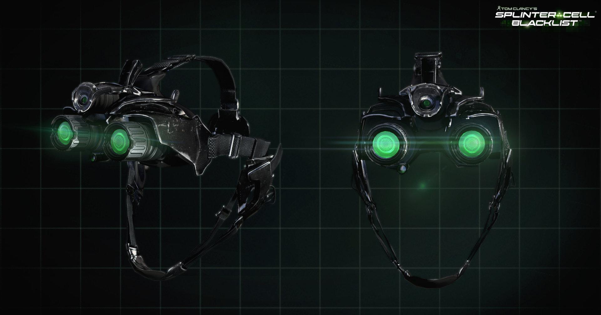 Charles Lim - Splinter Cell Blacklist - goggles