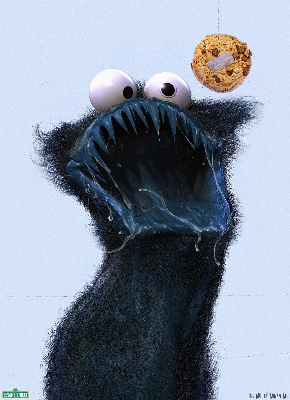 The innocent of Sesame Street