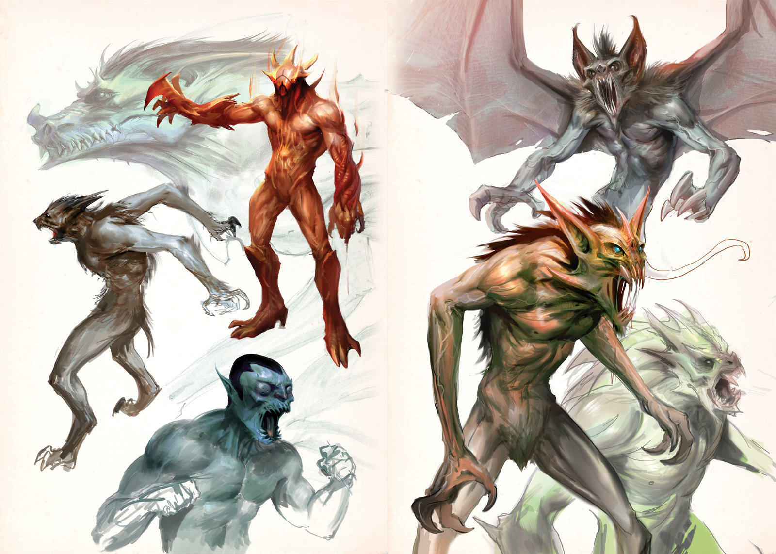 Creatures pages