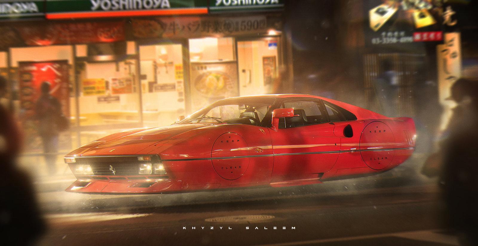 Ferrari 288 - RetroFuturism.