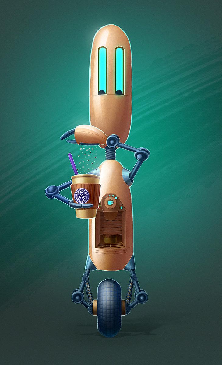 Yana blyzniuk robot