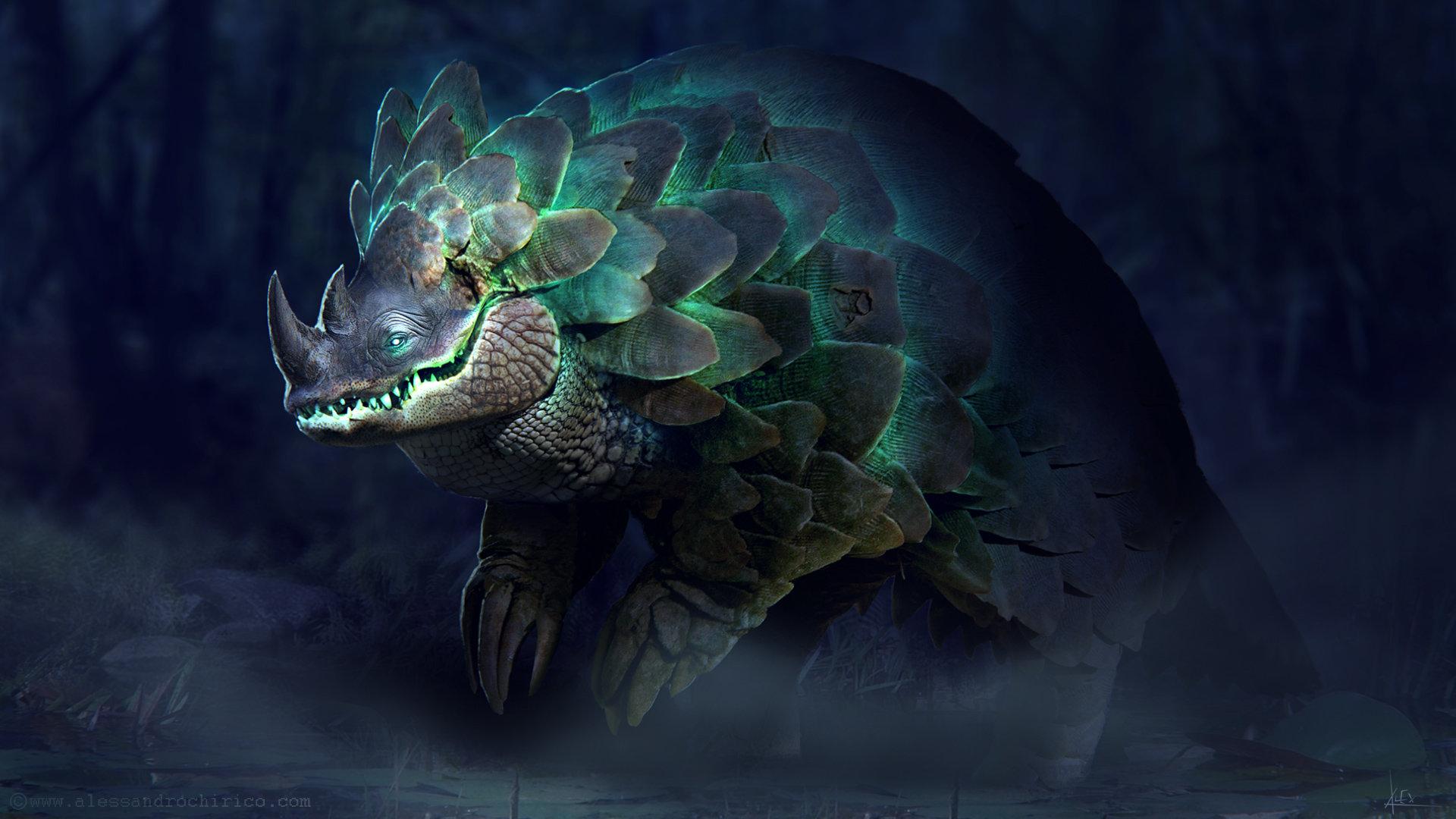 Alessandro chirico swamp creature alessandro chirico glow