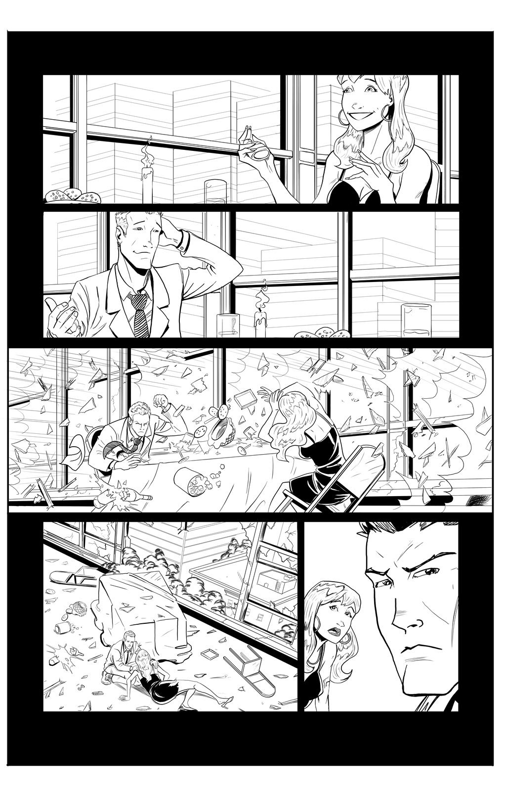 Matt james spider man sample page 2 by mattjamescomicarts d7c0utf