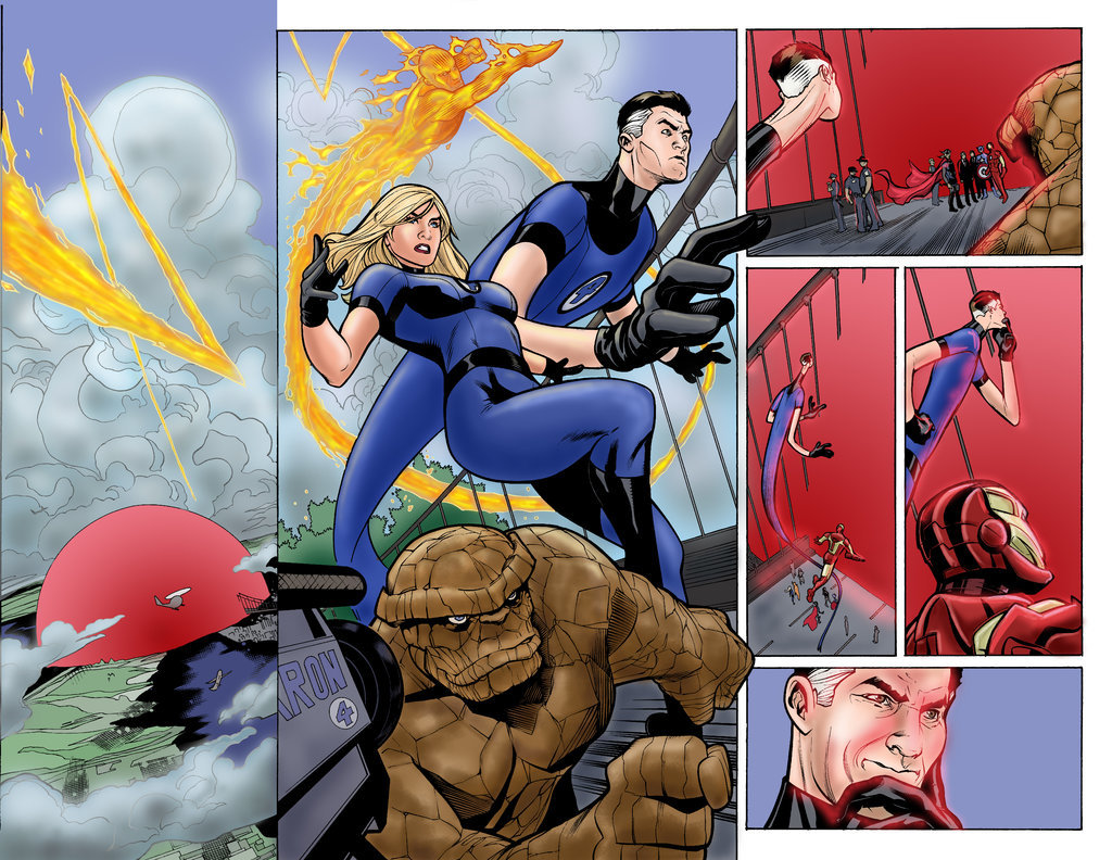Matt james uncanny x men 525 page 04 05 spread colours by mattjamescomicarts d6zv3ld