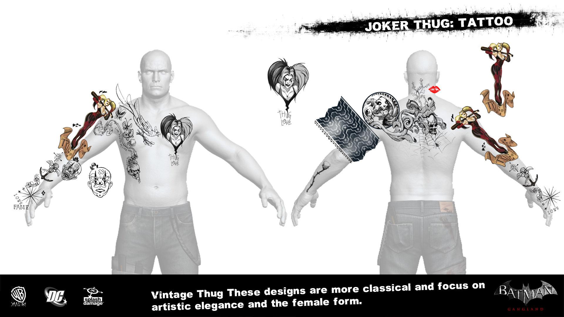 Manuel augusto dischinger moura splashdamage joker thug tattoo 5