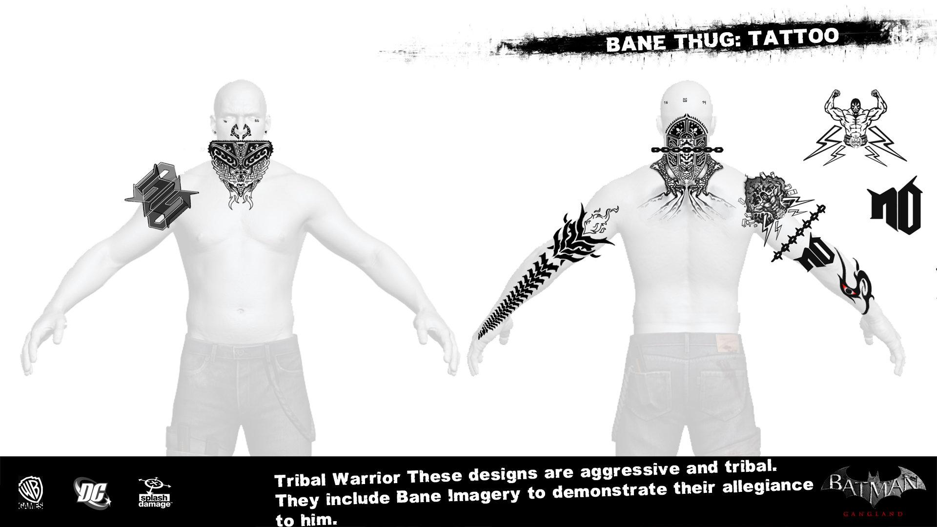 Manuel augusto dischinger moura splashdamage bane thug tattoo 4