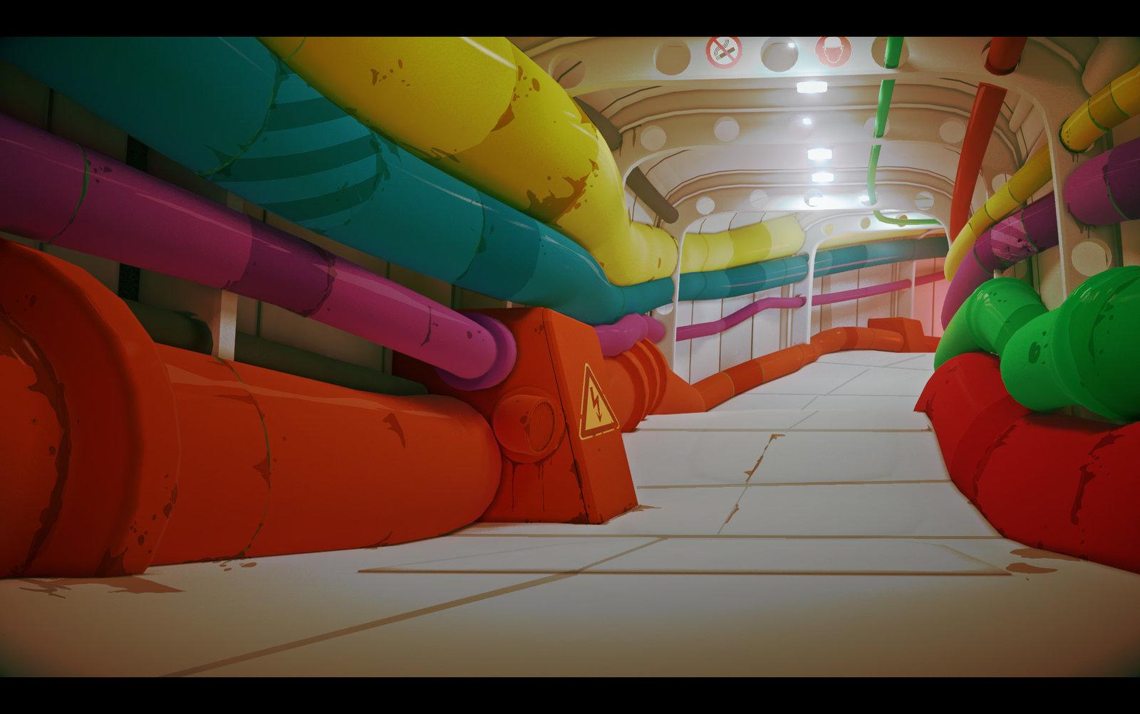 Color corridor