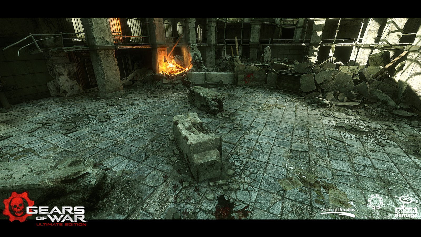 Prison - I contributed to the propping and some asset creation, working alongside Myles Lambert to bring the map to final quality.