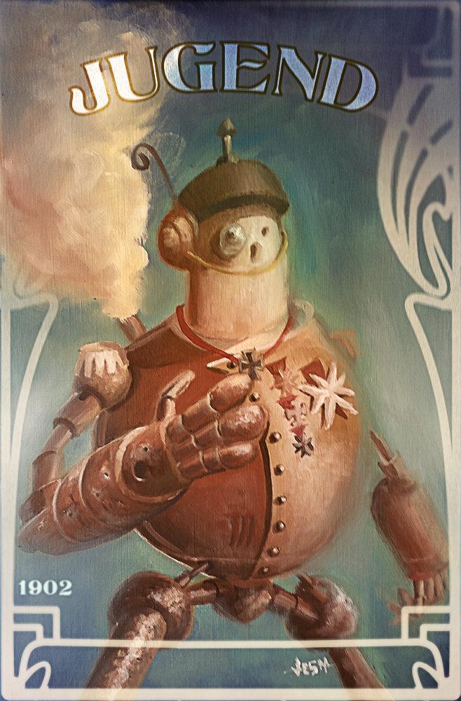 Jean paul ficition steampunkrobot02