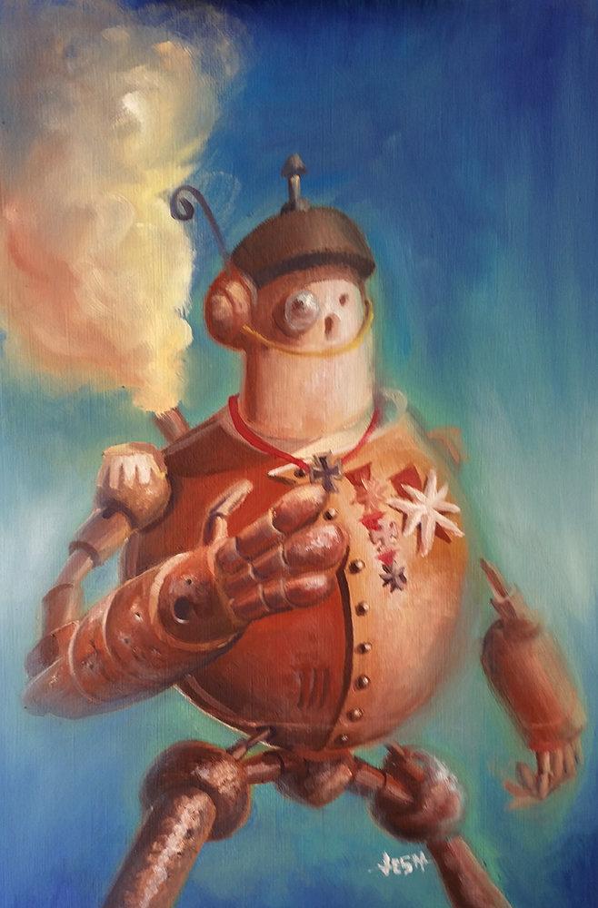 Jean paul ficition steampunkrobot01