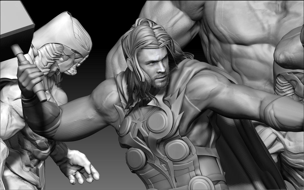 Avengers: Infinity War : WIP-2