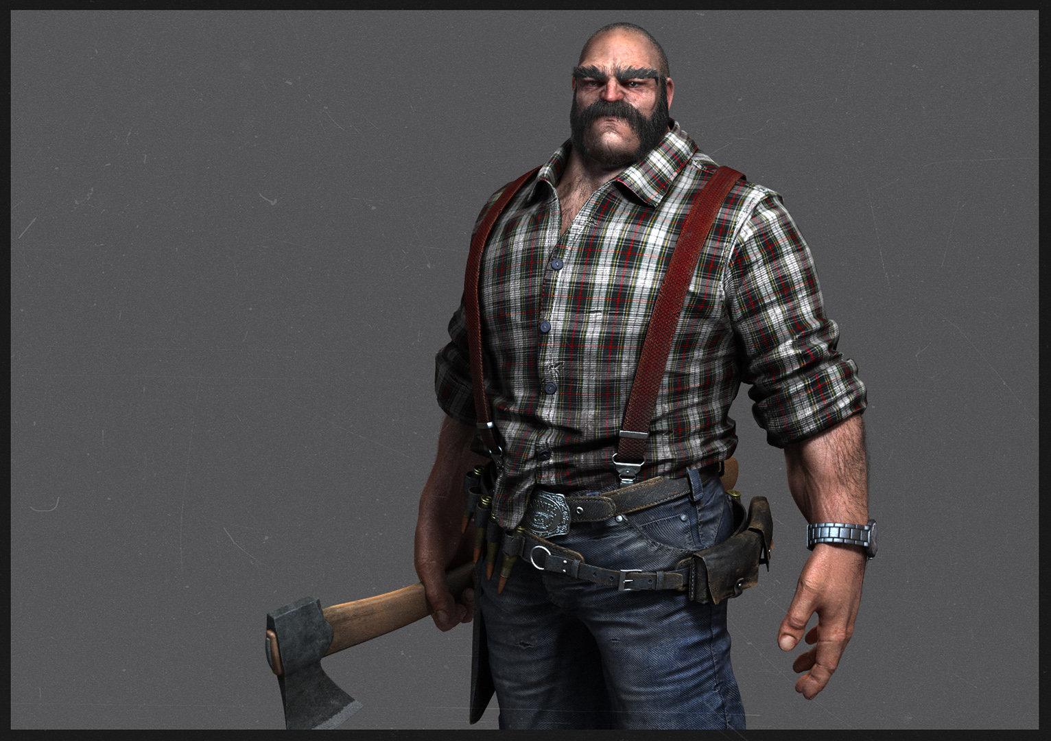 The Lumberjack 74 95