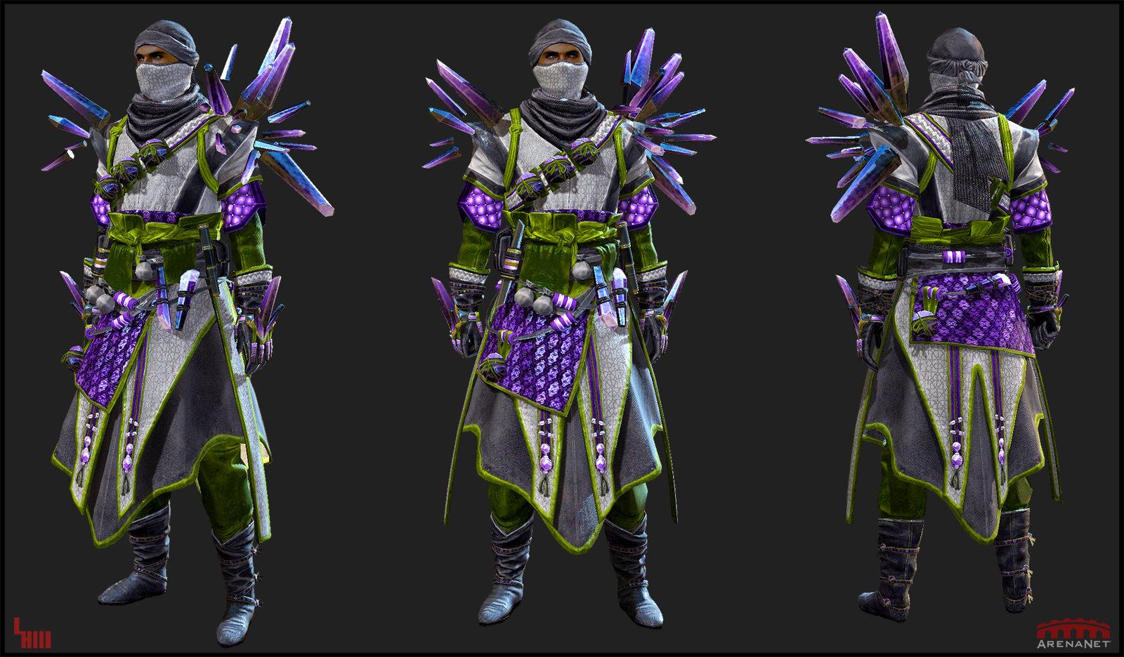 GW2 Outfit, 16,000 tris
