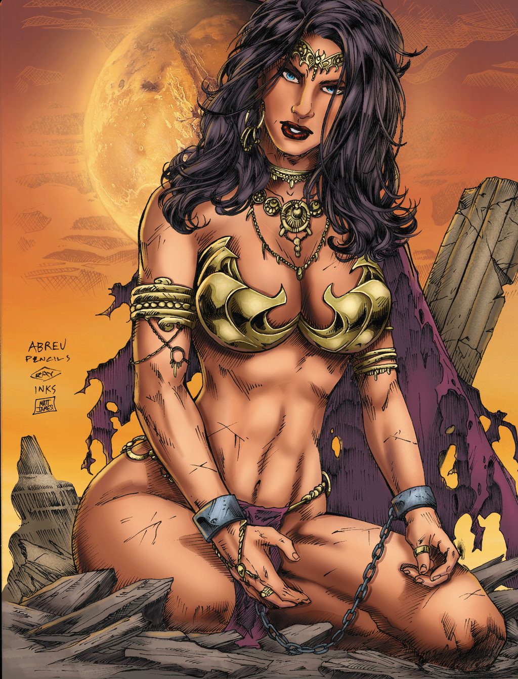 Matt james dejah thoris by mattjamescomicarts d9adxao