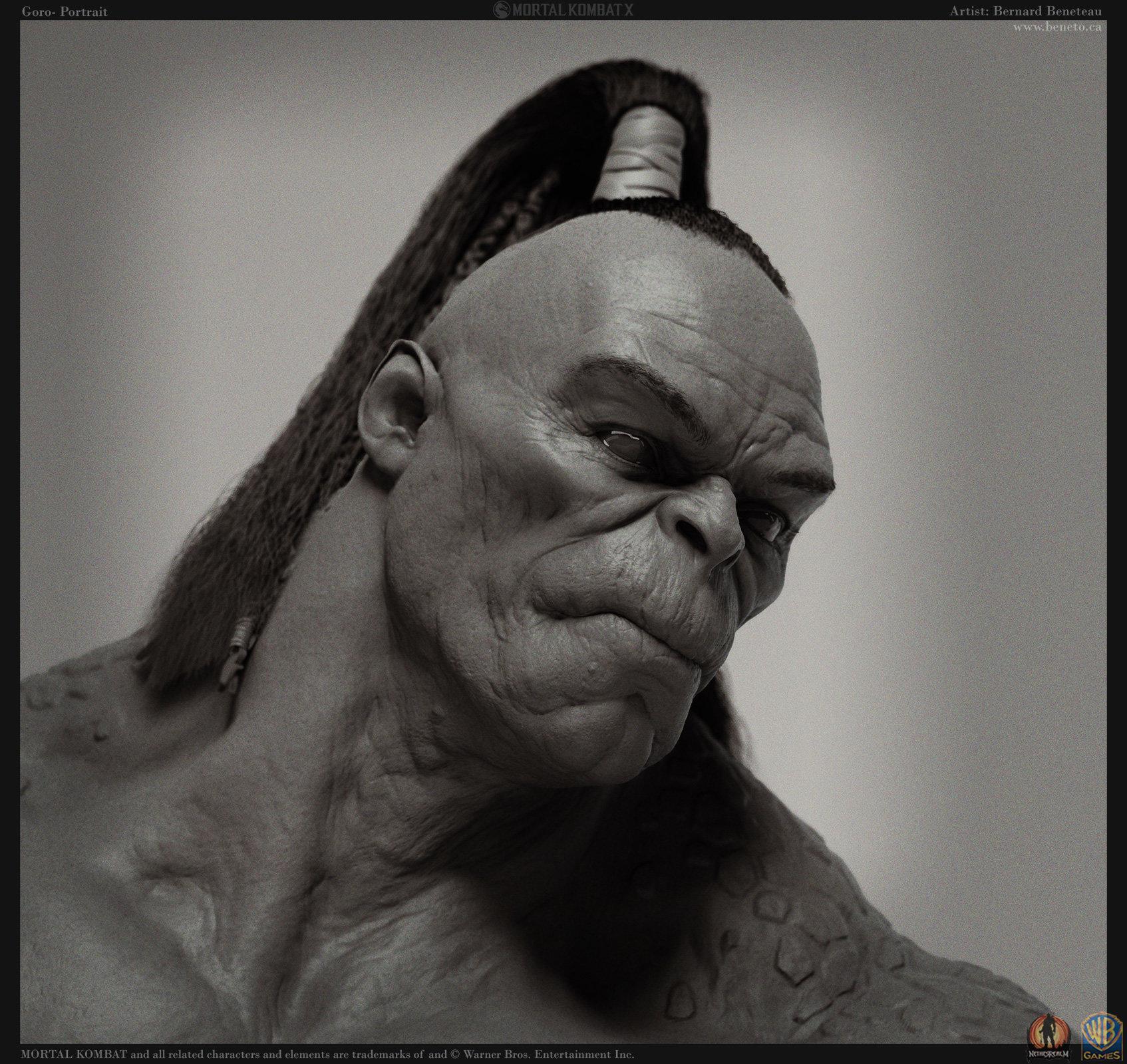 mortal kombat characters goro