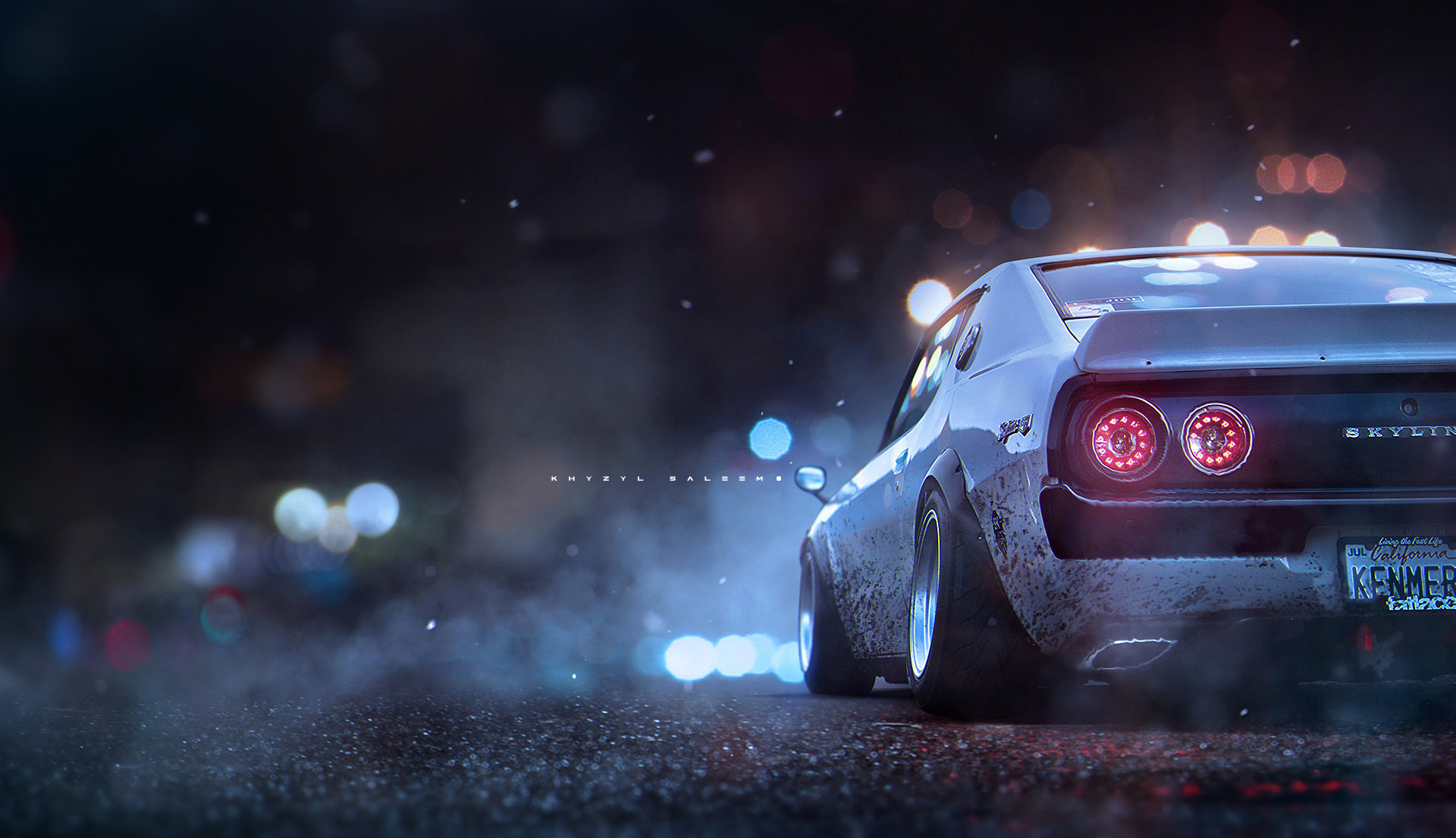 Artstation Kenmeri Wallpaper Khyzyl Saleem