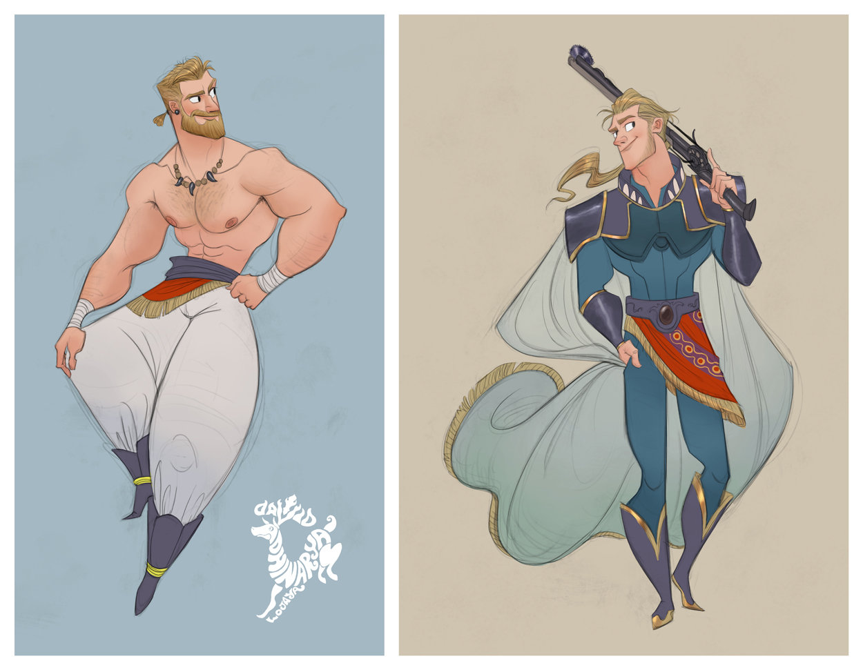 Final Fantasy Has Developed Quite The Fan Art Followingover The