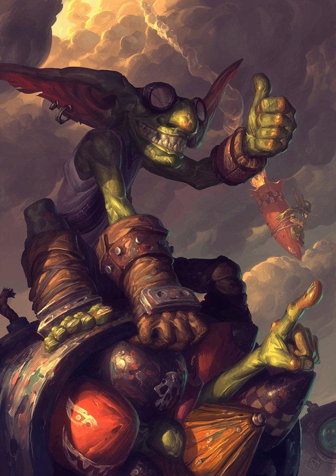 Goblins vs. Gnomes by Eduardo Garcia