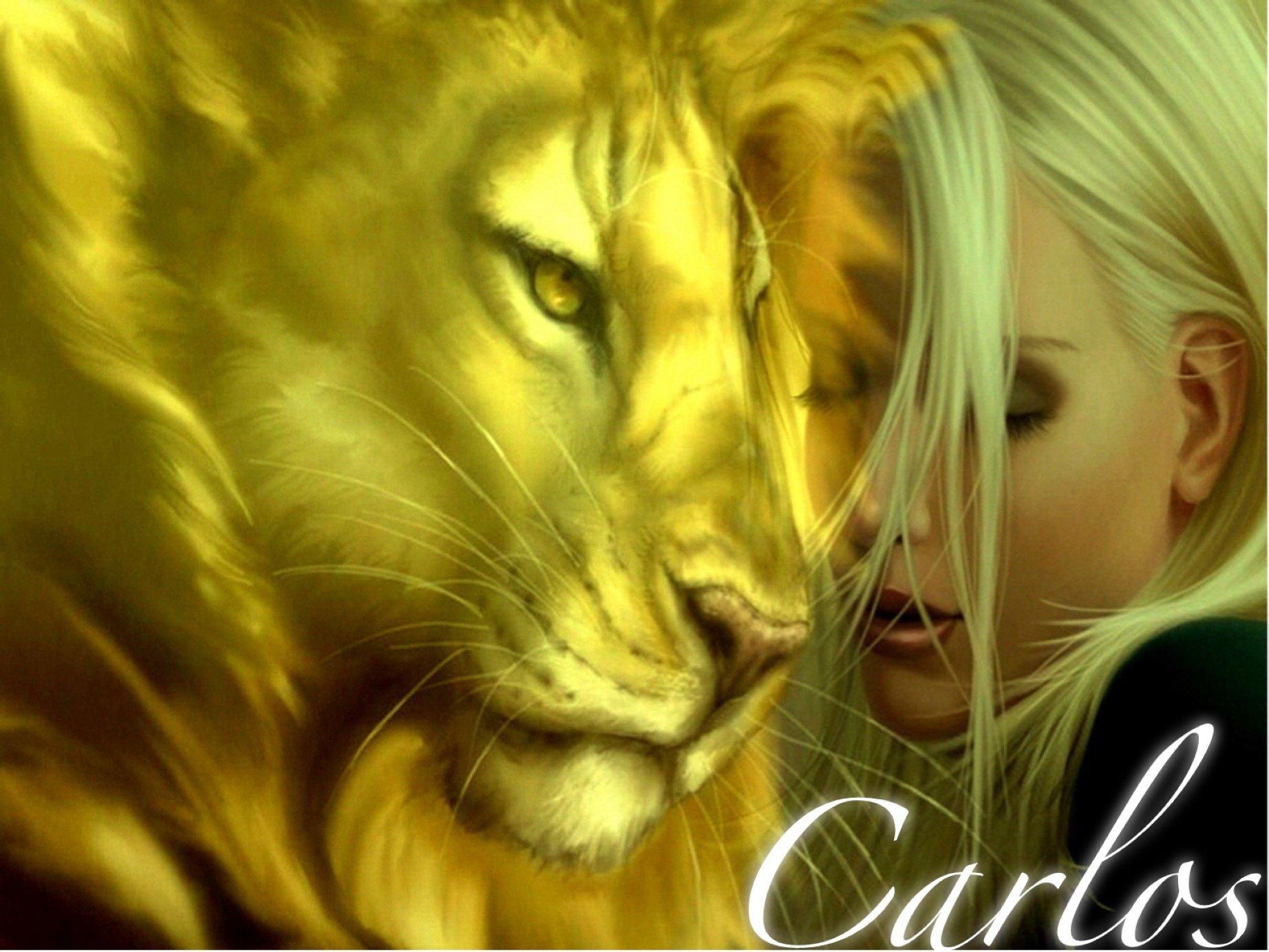 Красивые фото девушки львицы