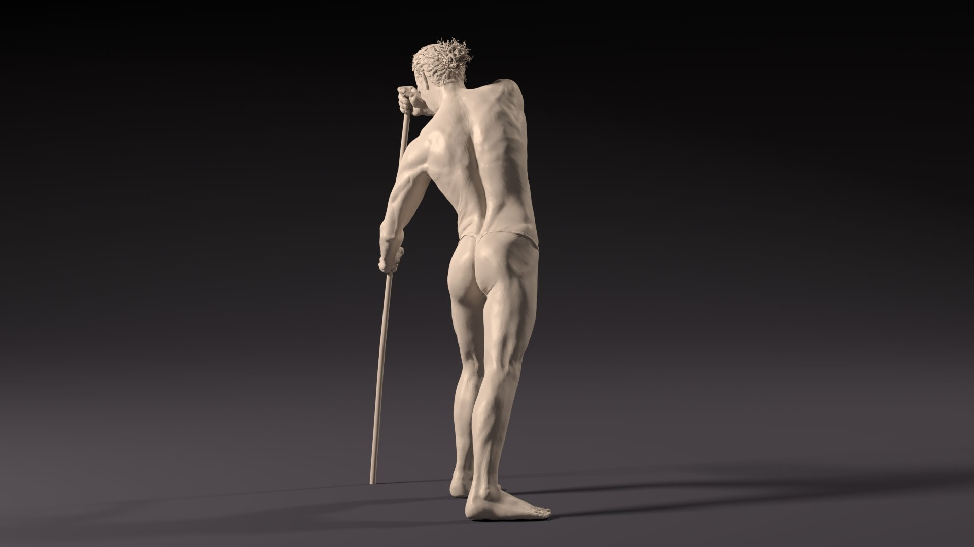 ArtStation - Digital Figure Sculpture - Man Anatomy, Victor Manuel Vera