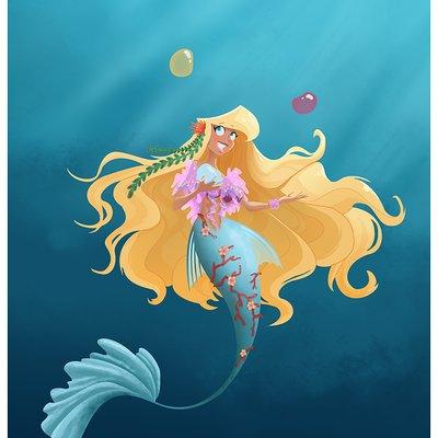 Anne quenton circus mermaid