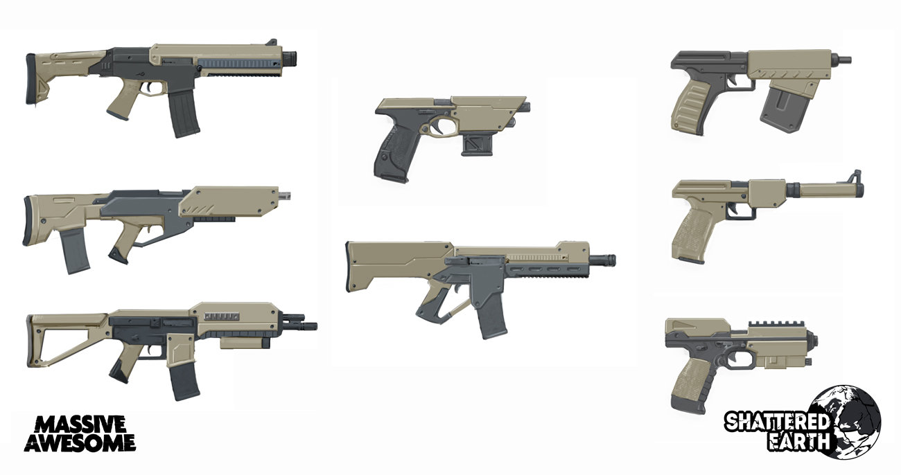 UNM Coyote weapon designs