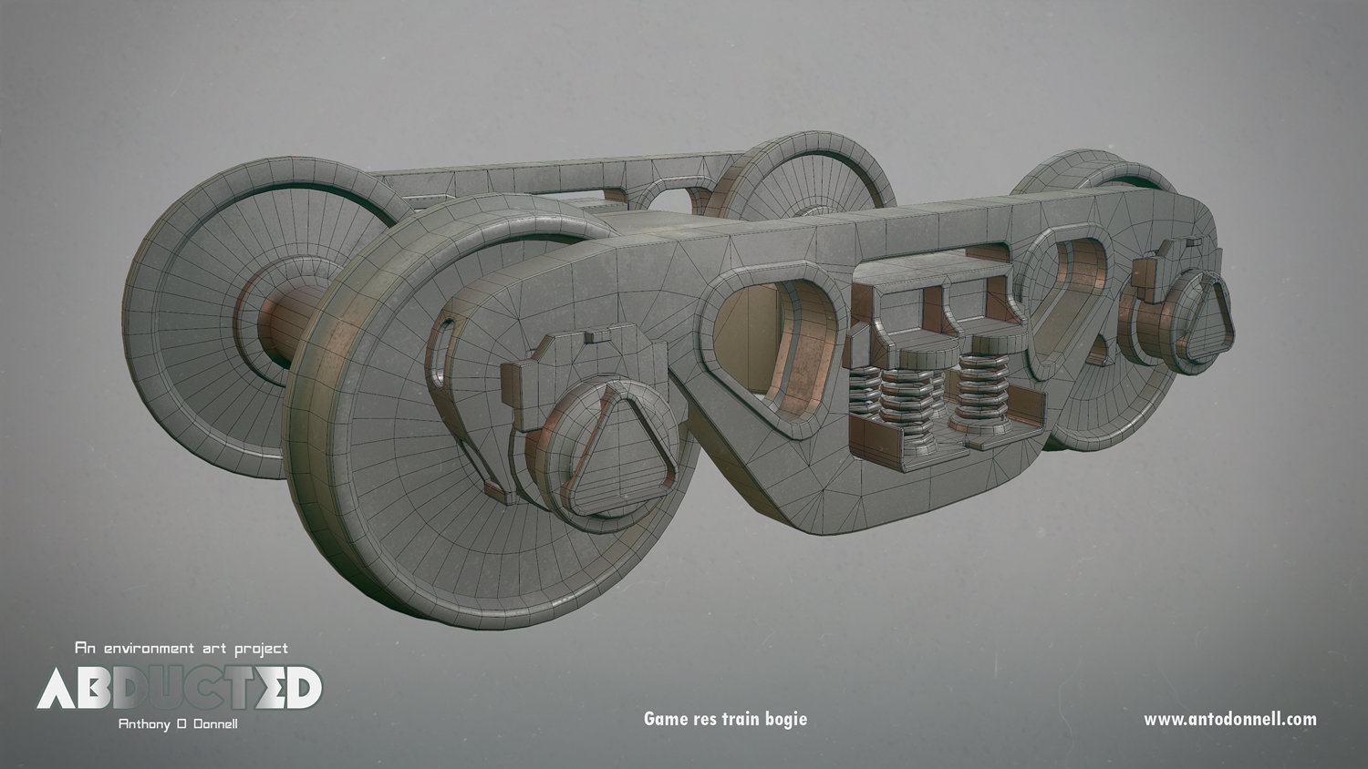 Wireframe of the game res bogie