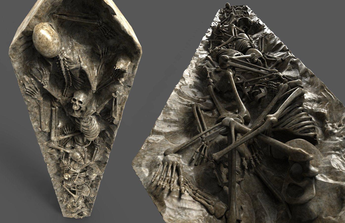 Cliff schonewill skeletonwall 05