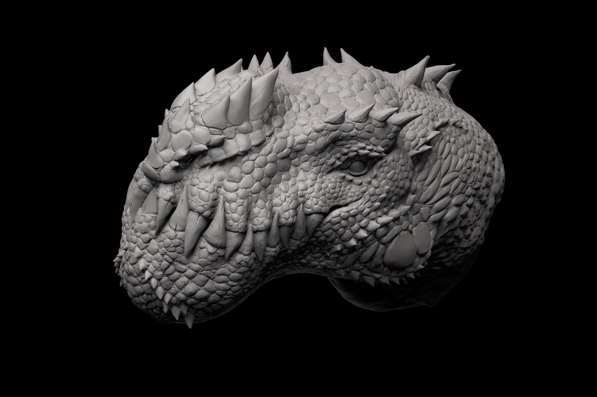 Jia hao 2015 09 cryosaurus sculpt 05