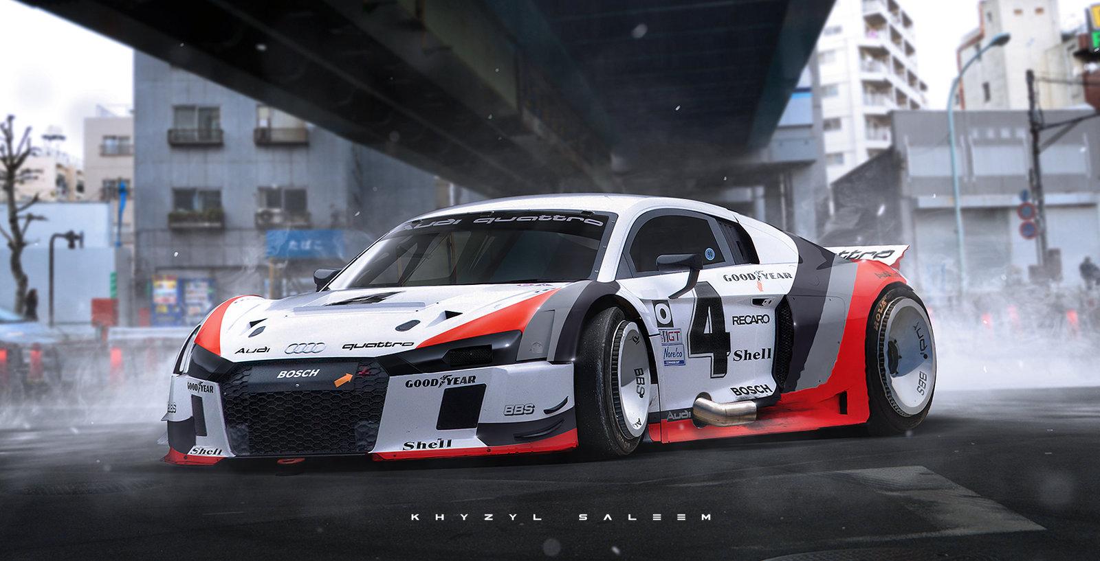 IMSA Audi R8