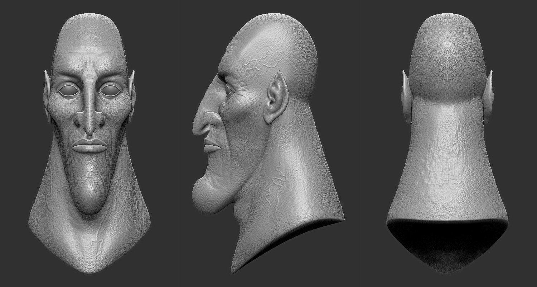 Omar pico hadessculpt