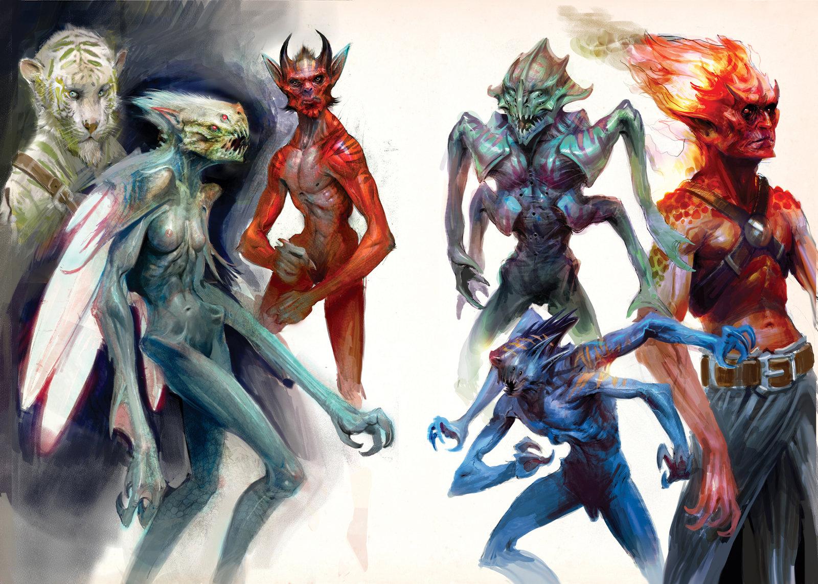 Creatury creatures