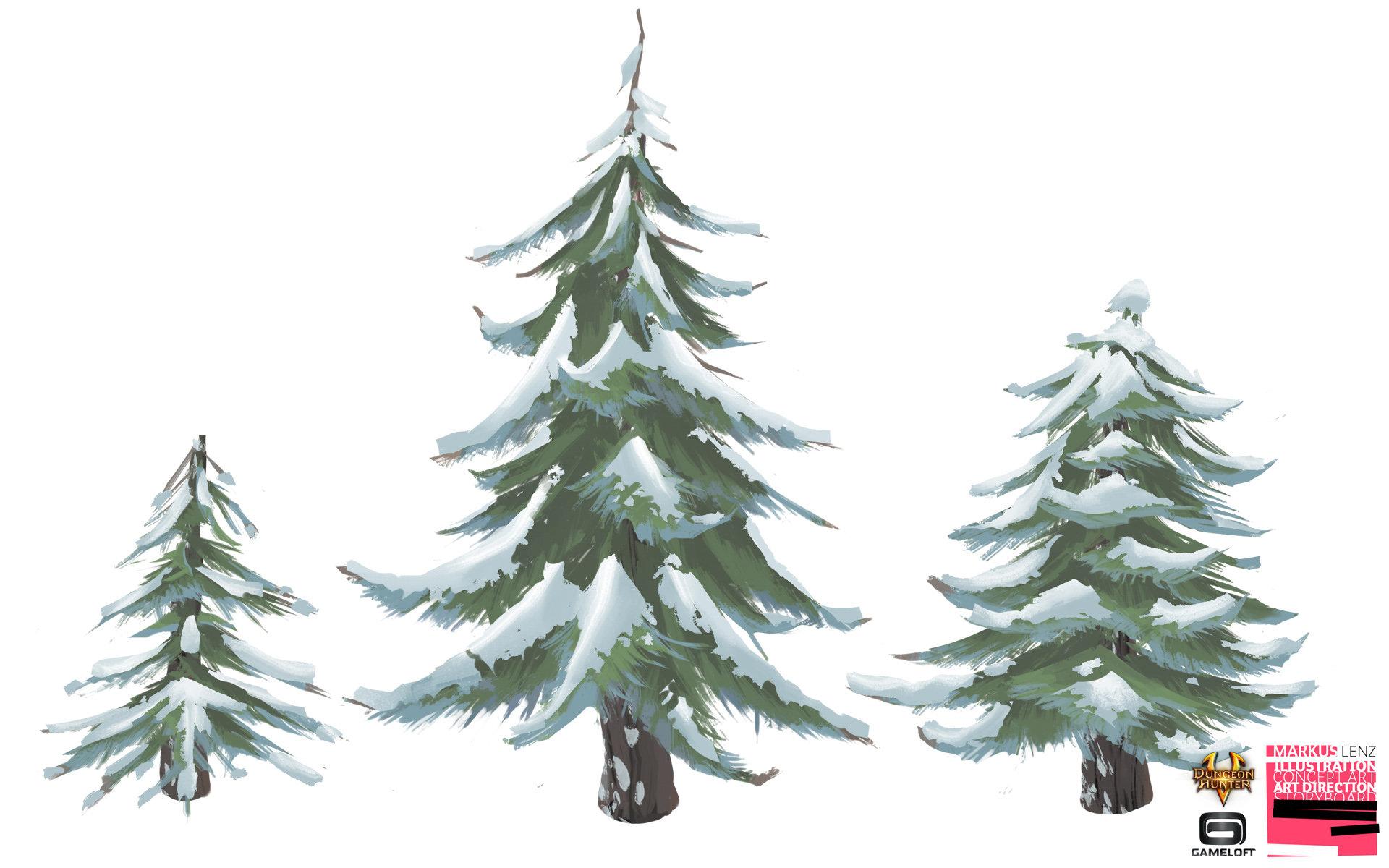 Markus lenz gameloft dh5 valenoutpost trees 02 ml