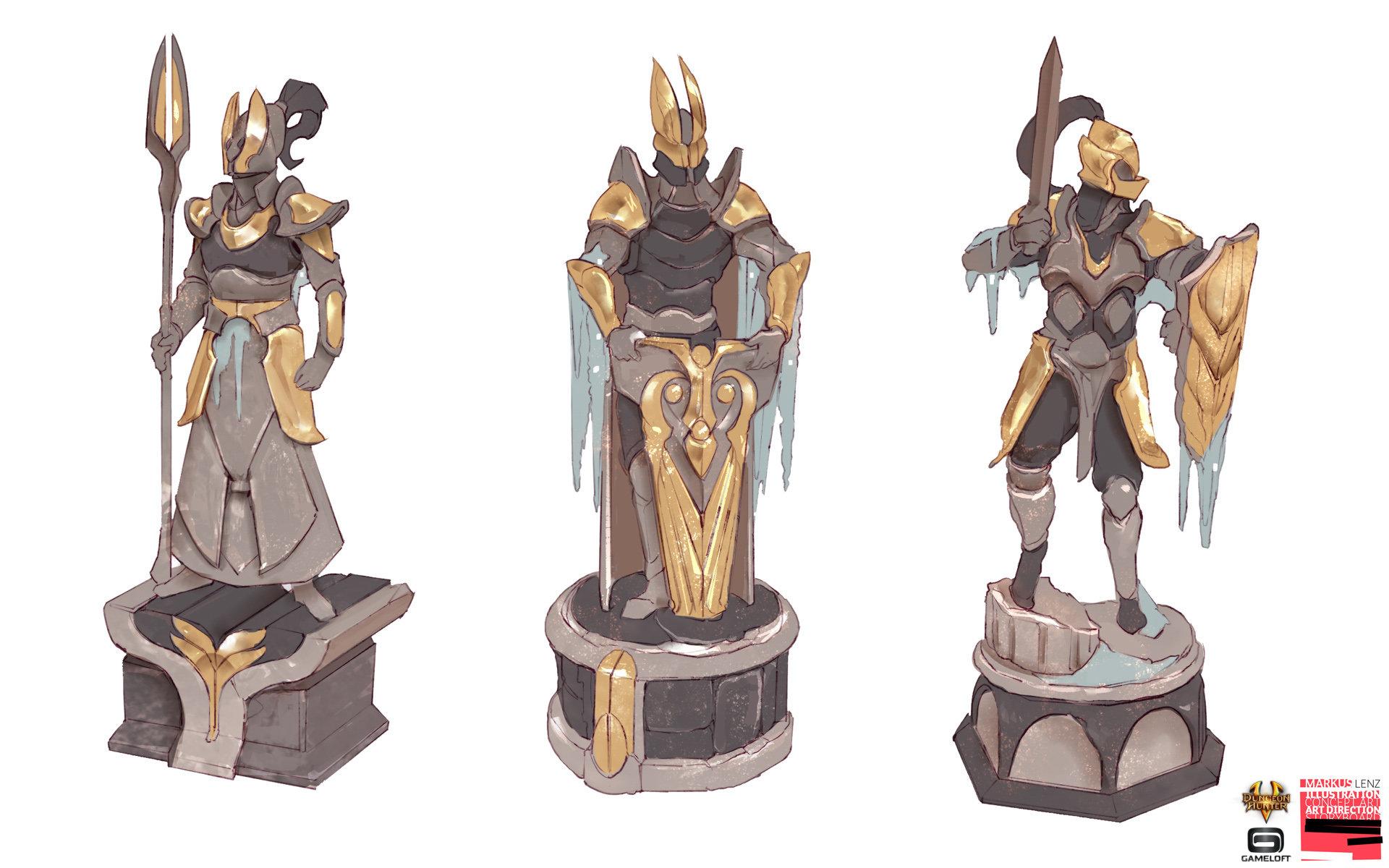 Markus lenz gameloft dh5 valenoutpost statues 02 ml