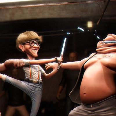 Erick cazares nerd fight 01