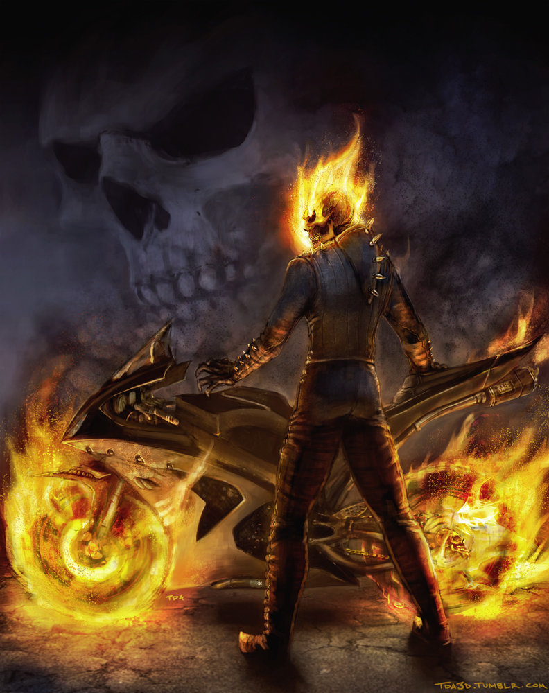 Tom bramall ghostrider